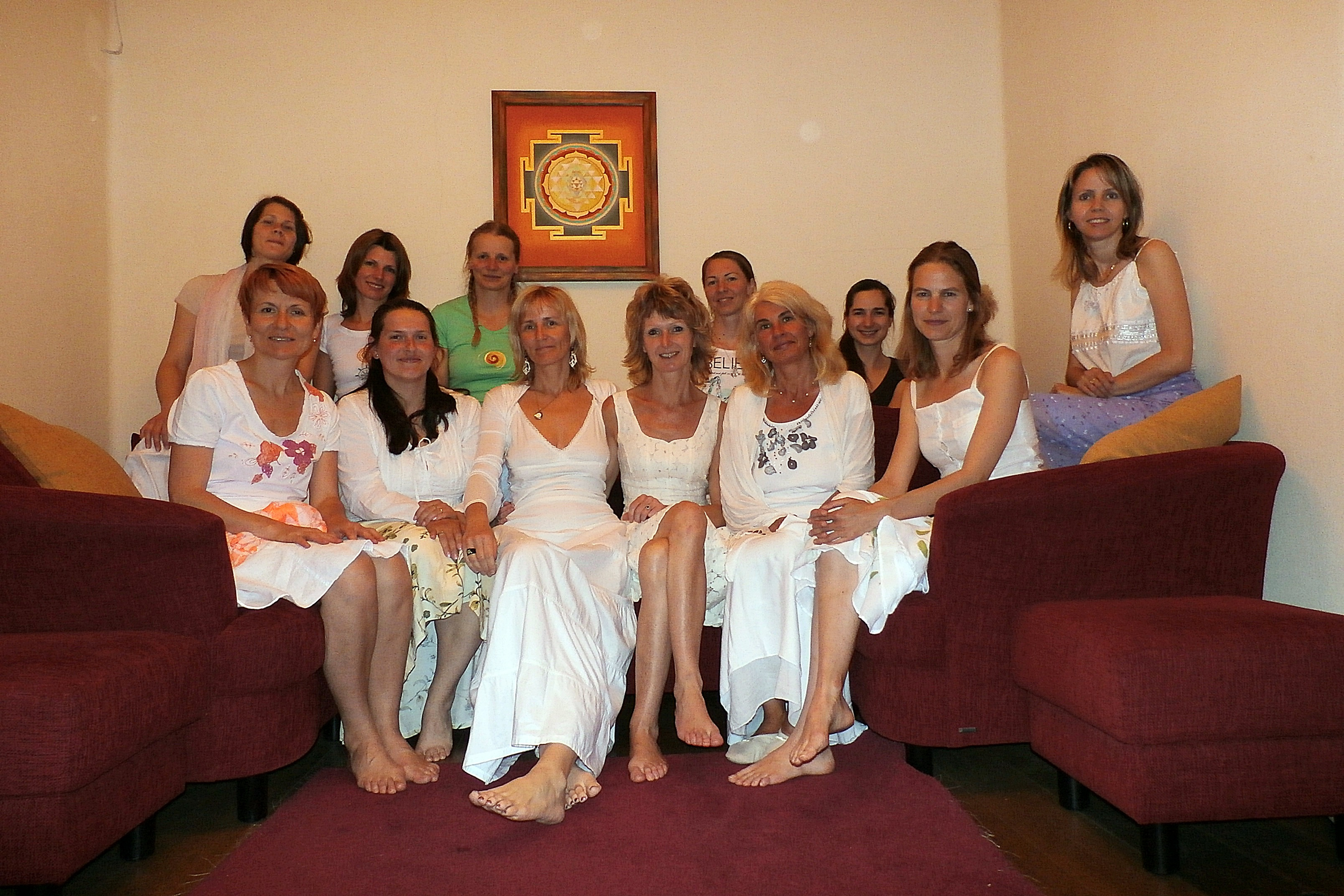 ženská setkání Vědomá žena Praha Maitrea